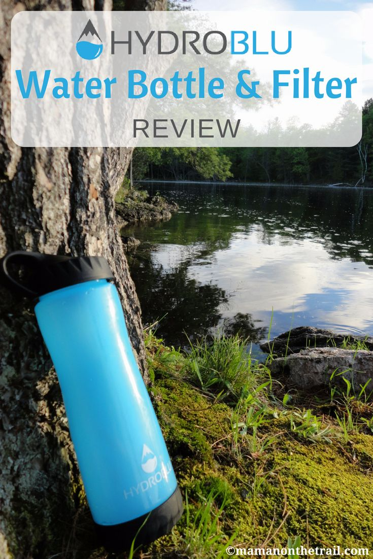HydroBlu Water Filter Review - mamanonthetrail.com