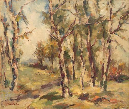 Adam Bălțatu - Pădurea de mesteceni