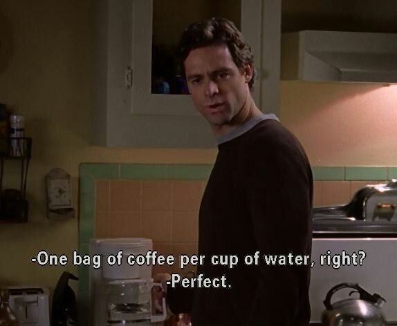 charming life pattern: Gilmore Girls - Christopher Hayden - quote - coffe...
