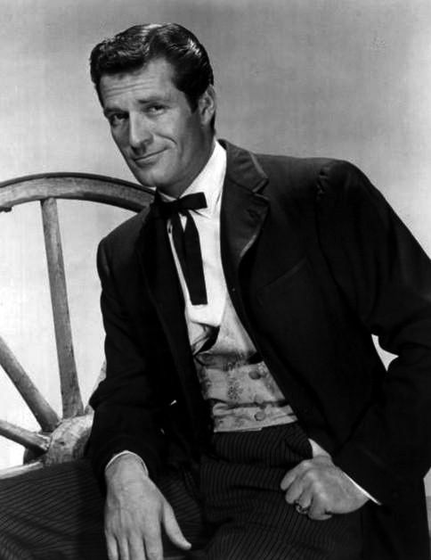 Hugh O'Brian in The Life and Legend of Wyatt Earp (1955 - 1961) // Wikipedia, the free encyclopedia