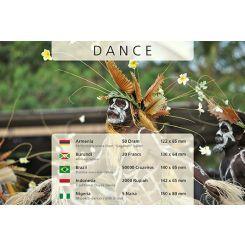 Χορός - 5 Χαρτονομίσματα από όλον τον κόσμο!!Η Μοναδική Συλλογή Χαρτονομισμάτων από διάφορες χώρες του κόσμου με θέμα πέντε παραδοσιακούς χορούς από πέντε χώρες του κόσμου. Περιλαμβάνει τα ακόλουθα 5 χαρτονομίσματα: 50 Ντραμ, Μπαλέτο, Αρμενία 5 Ναίρα, Χορευτές Nkpokiti, Νιγηρία  20 Φράγκα, Αφρικανοί Χορευτές, Μπουρούντι 50000 Κρουζέιρος, Χορός Bumba-meu-boi, Βραζιλία 2000 Ρουπίες, Παραδοσιακός Χορός Νταγιάκ, Ινδονησία