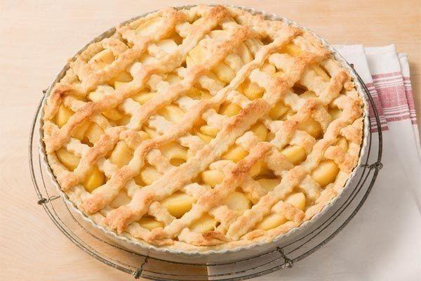 Apple pie recipe in German
