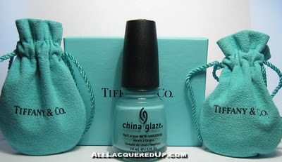 China Glaze 'For Audrey'....Nail Polish, Favorite Colors, Nails Colors, China Glaze, Nail Colors, Tiffany Blue, Nails Polish, Color Nails, Blue Nails