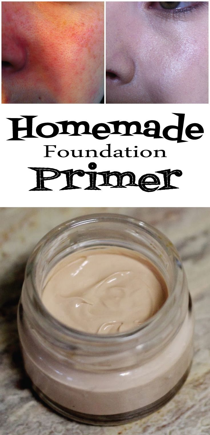 Homemade Foundation Primer - Vogue Beauty Magazine