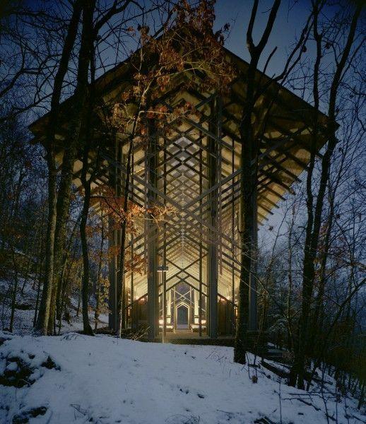 e. fay jones | Glass Chapel by E. Fay Jones - Sustainable architecture - Pictify ...