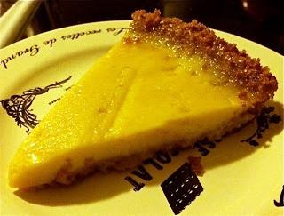 Granadilla Custard Tart