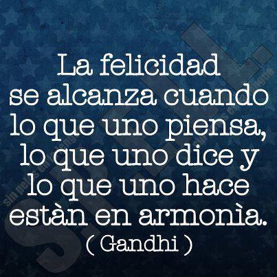 la felicidad #frases ❥Teresa Restegui http://www.pinterest.com/teretegui/❥