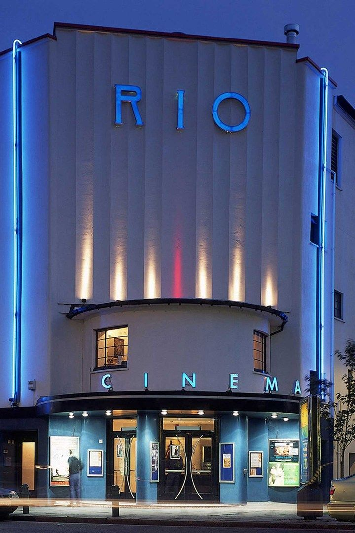One of London's many independent cinemas. Rio Cinema, Dalston