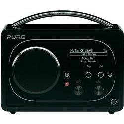 Pure Evoke F4 Internetradio und DAB Radio mit Bluetooth®, Kofferradio, Tischradio, WLAN Internet, DAB+, UKW Schwarz