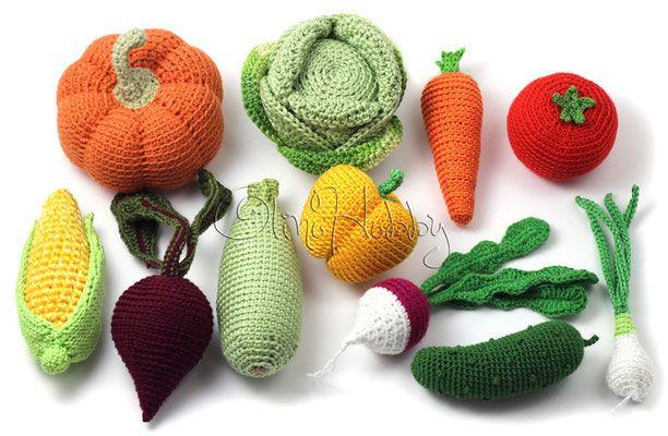 Peelable Orange Amigurumi : 17 basta bilder om h?klet mad p? Pinterest Gronsaker ...