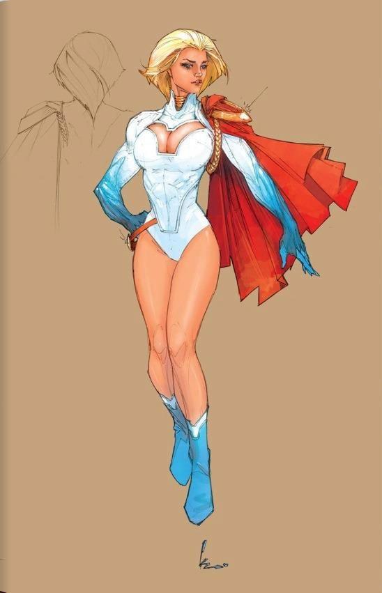 Kenneth Rocafort's Power Girl