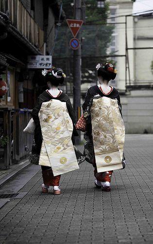 Returning To The Okiya - Kyoto, Japan