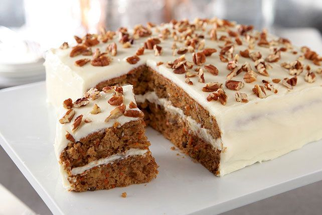 Good Layered Cake Recipes: As In All Good Carrot Cakes, Fresh Veggies Balance The