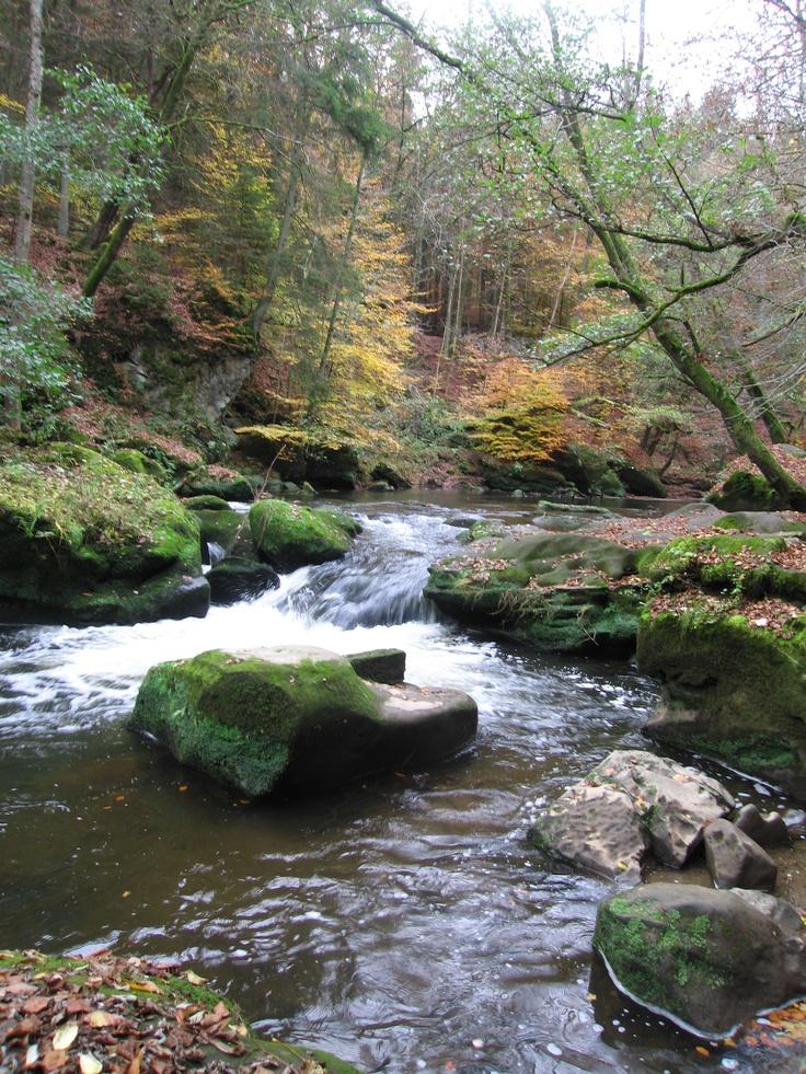 Nature park near Irrel, Germany