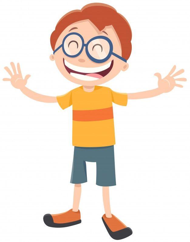 Personaje De Dibujos Animados Nino Feliz Premium Vector Freepik Vector Persona Ninos Felices Dibujos Ninos Dibujos Animados Dibujos Animados Personajes