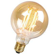 LED Fadenlampe lang rustikal Globe 95mm E27 2.7W 170LM 2000K #Leuchtmittel #Ledleuchtmittel