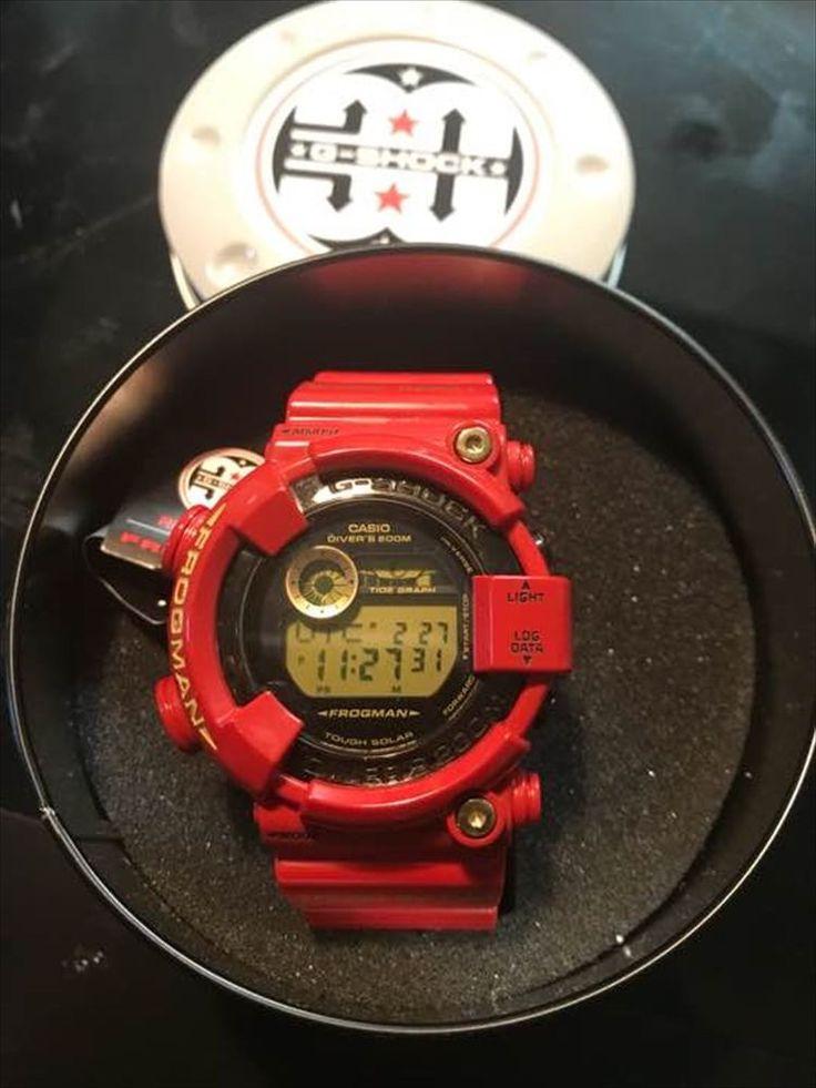 USED CASIO G-SHOCK FROGMAN GF-8230A-4JR Rising RED 30th Anniversary #GSHOCK