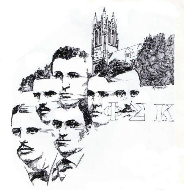 The founders of Phi Sigma Kappa. #PhiSigmaKappa #fraternityhistory