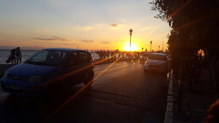 #thessaloniki #sunset