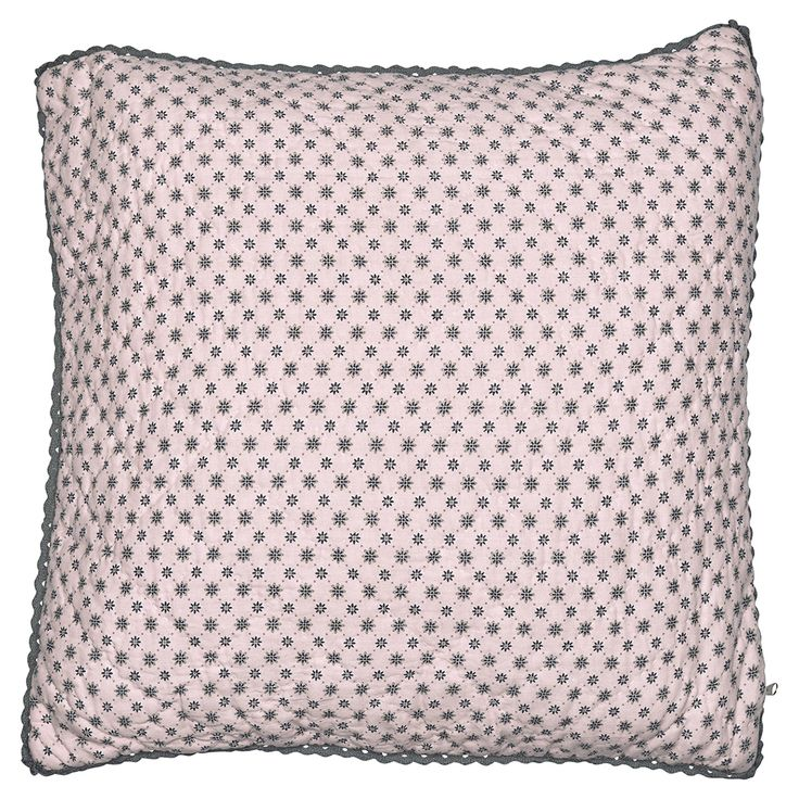 Traumhaft schön ist dieses hochwertige gesteppte Kissen von Greengate. Ob auf dem Bett oder dem Sofa - dieses Kissen macht immer eine gute Figur und passt zu jeder Einrichtung. Das Kissen findest Du bei uns in verschiedenen Farben.