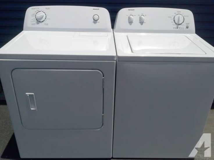 Like New Admiral Washer Gas Dryer Set Delivered/Installed for sale in ...