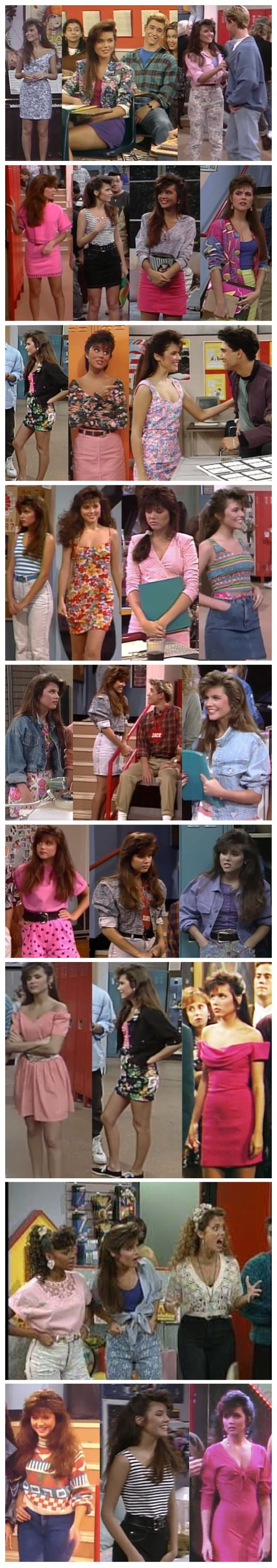 I want Kelly Kapowski's clothes from Saved by the Bell!