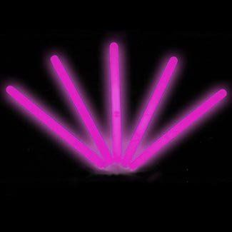 """6"""" Lumistick Glow Stick Light Sticks Pink (Tube of 25) by Lumistick. $11.99. The best brand of glow sticks on the market. You will receive 1 tube of 25 LumiStick luminescent light sticks. Your order will also contain 25 strings so you can wear them as a necklace or hang them anywhere you want. Once they start glowing, LumiStick brand Premium glow light sticks will last you all night. They will glow super bright for 8 - 12 hours. Then, they will start to fade out ..."""