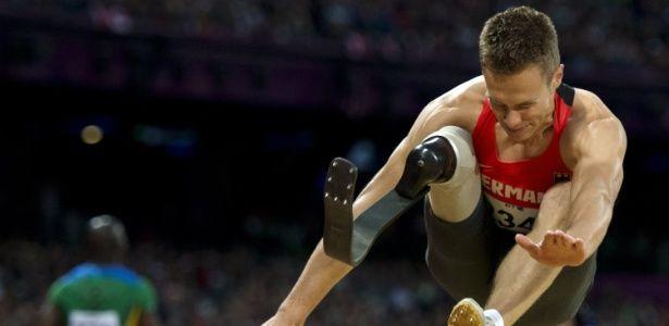 Se o alemão Markus Rehm tivesse disputado os Jogos Olímpicos do Rio-2016, ele…