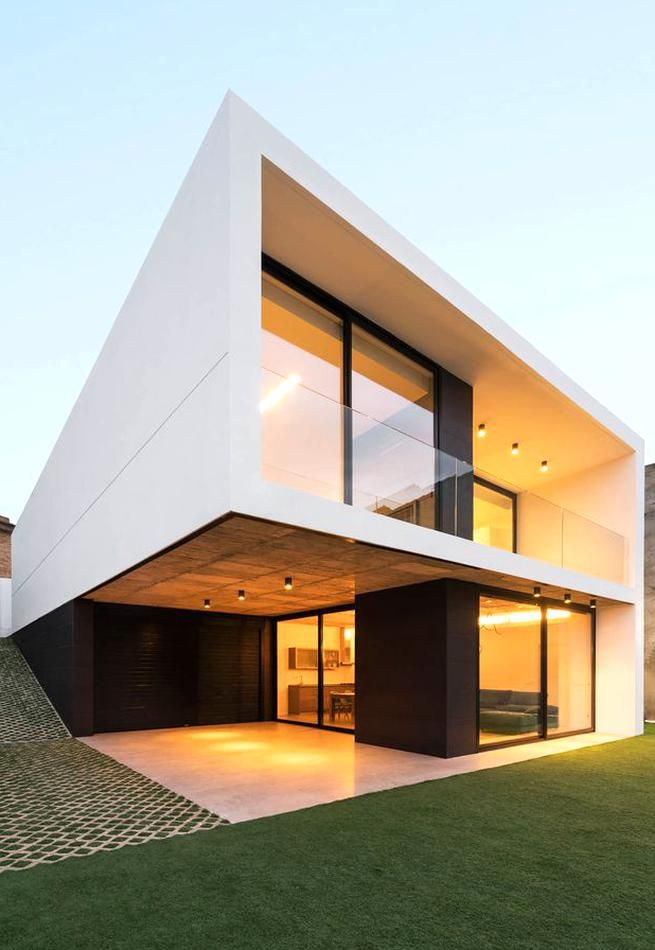 Gallery Of Buganvilla House Ruben Muedra Estudio De Arquitectura 6 In 2020 Modern House Exterior Minimalist House Design Best Modern House Design