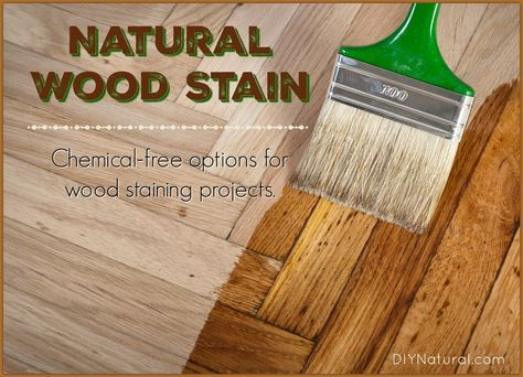 Homemade wood stain? Yes! There are many natural, homemade wood stains you can use. Some are metallic based and some plant based. Let's take a look!