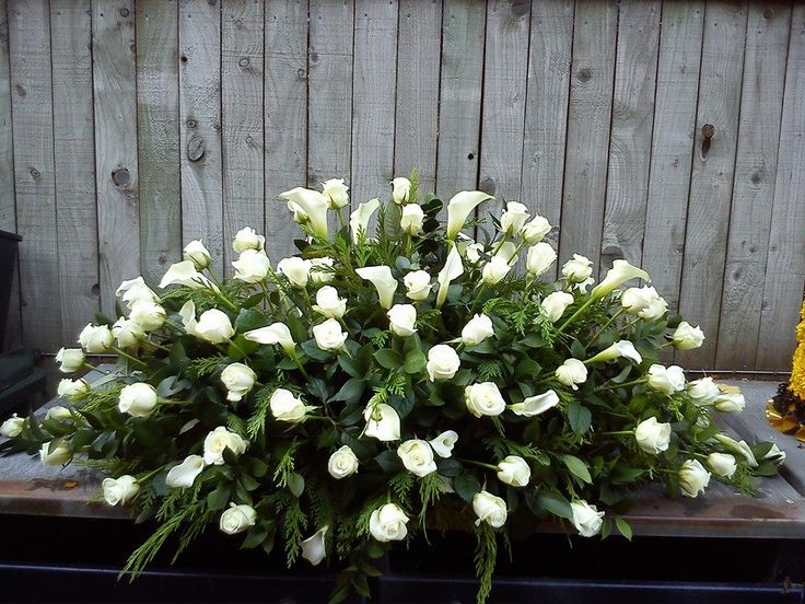 Funeral coffin spray | Coffin sprays | Pinterest | Sprays ...