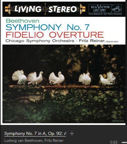Ludwig Van Beethoven (Fritz Reiner - Chicago Symphony Orchestra)