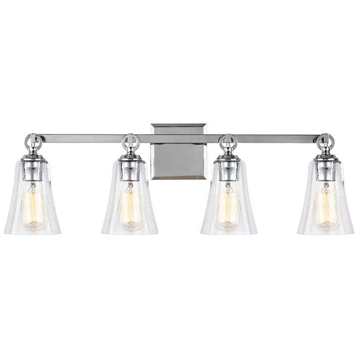Feiss Monterro 30 1 4 Wide 4 Light Chrome Bath Light 19h94
