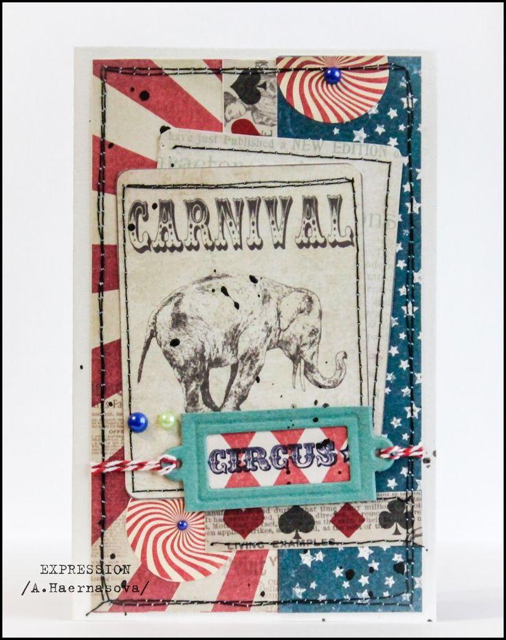 """Блог Scrapberry's: Коллекция """"Старый цирк"""""""