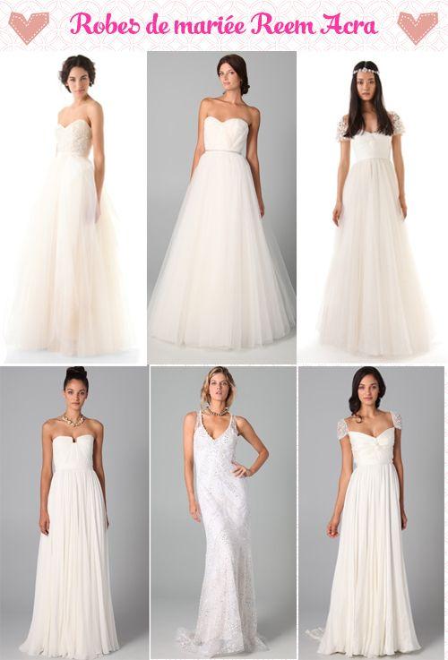 Robe de mariée: Fan de Reem Acra