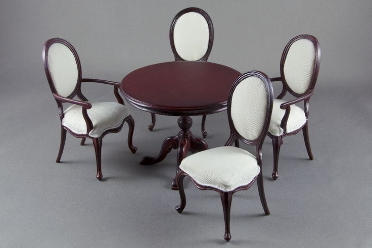 1143 best images about miniature houses rooms on pinterest - Dollhouse dining room furniture ...