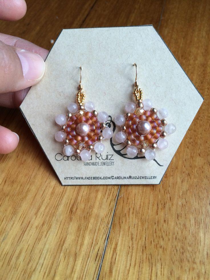 Beautiful earrings - Custom order!