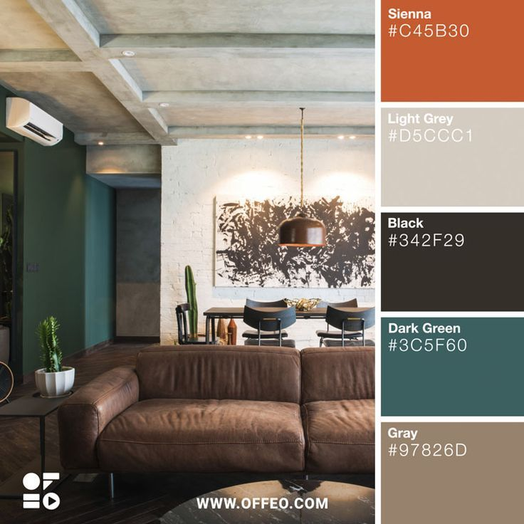 20 modern home color palettes to inspire you interior on interior color combinations for homes id=76842