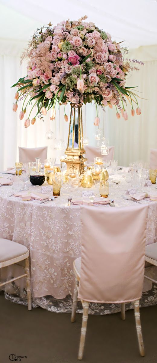 Wedding Tablescape ● Floral Centerpiece......BεauԵίʄuɭ ♡      ✤ LadyLuxury ✤.