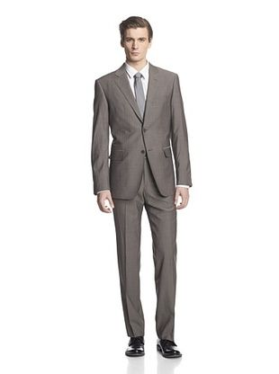 -26,900% OFF Cerruti 1881 Men's Drop 7 Classic Fit Suit (Grey Stripe)