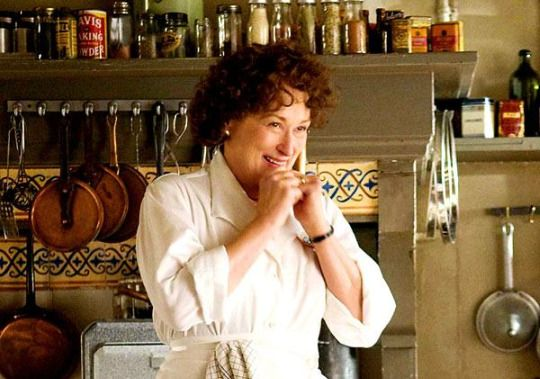 Meryl Streep is Julia Child!  My all time favorite movie ever.