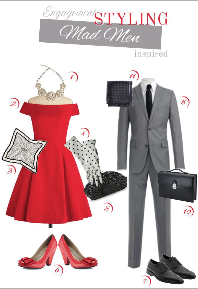 Mad Men style - can't wait for the show to come back.