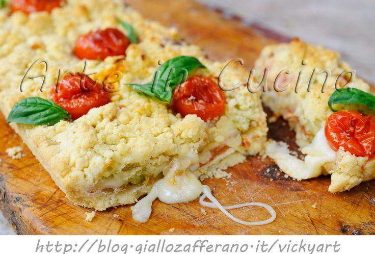 Plumcake sbriciolato salato con zucchine veloce