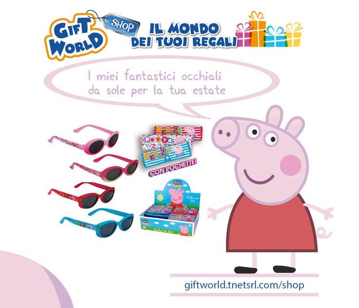http://giftworld.tnetsrl.com/shop/it/accessori/4141-peppa-pig-occhiali-da-sole-rosa.html  PEPPA PIG - OCCHIALI DA SOLE ROSA Spedizione compresa nel prezzo!!!  Visita il negozio online Giftworld.tnetsrl.com/shop  #gift #giftworld #starwars #giocattoli #design #lampada #lampade #3d #light #tennis #basket #calcio #auto #3d #minion #minions #zaini #peppa #peppapig #occhialidasole