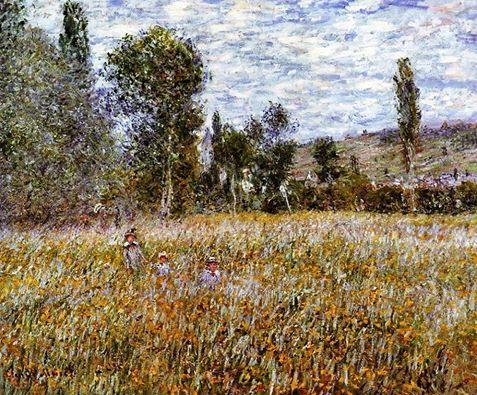 Claude Monet - The Meadow, 1879