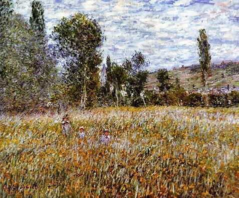 Claude Monet - The Meadow, 1879