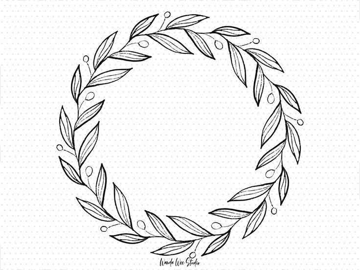 This Item Is Unavailable Etsy Wreath Drawing Floral Wreaths Illustration Christmas Wreath Clipart