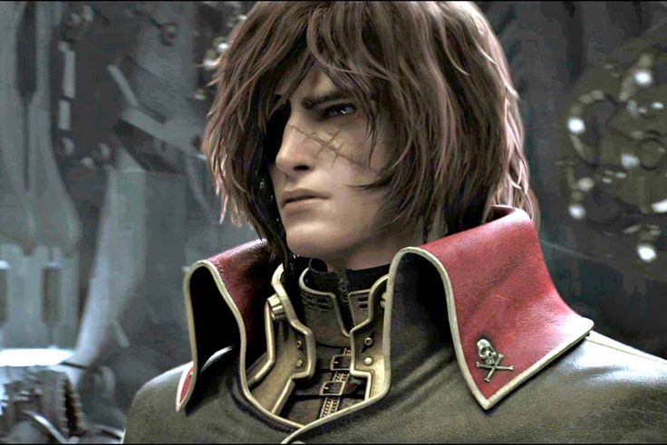 Space Pirate Captain Harlock 3D