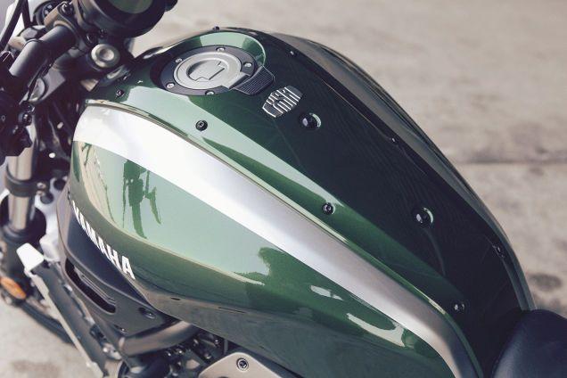 The Yamaha XSR700 something new based on somethings old