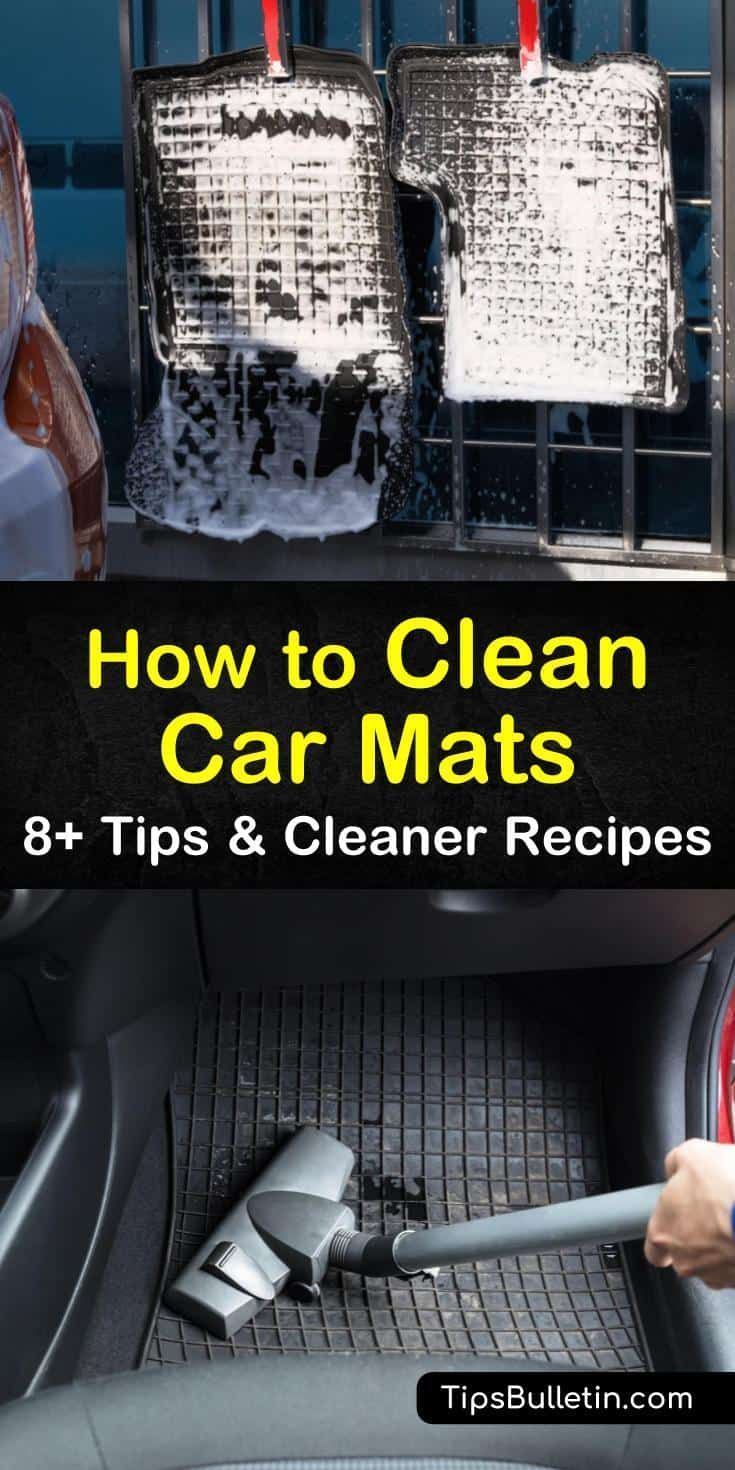 You Should Not Wash Car Mats That Contain Rubber Or Plastic In Washing Machines Our Cleaning Methods And Recipe In 2020 Clean Car Mats Car Cleaning Hacks Car Cleaning